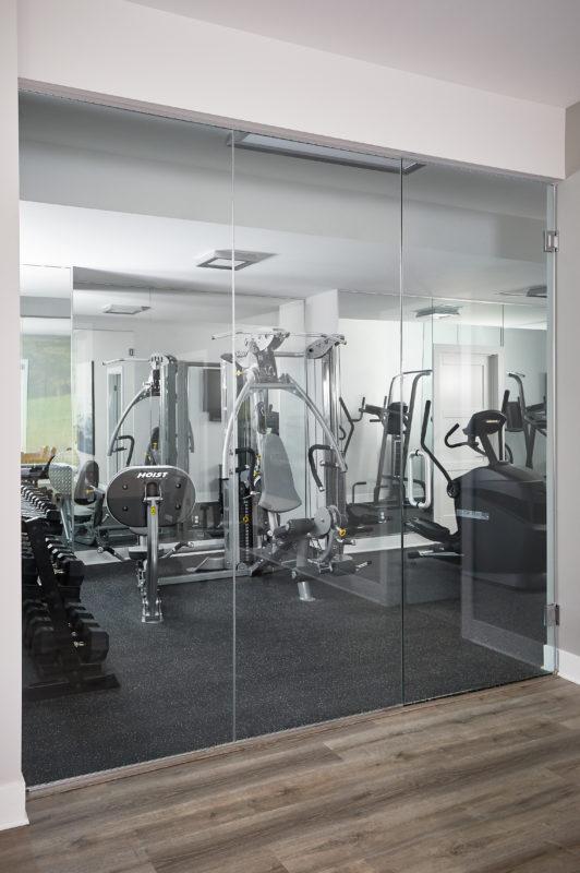 fitness room interior design