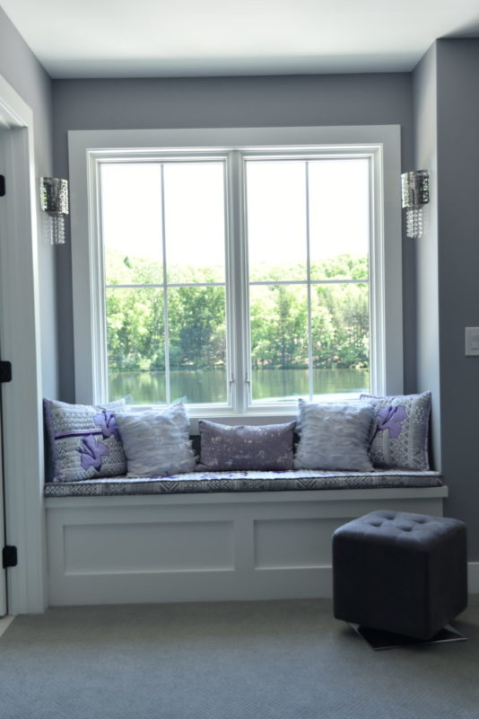 window seat interior design