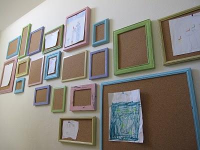 artwork gallery wall