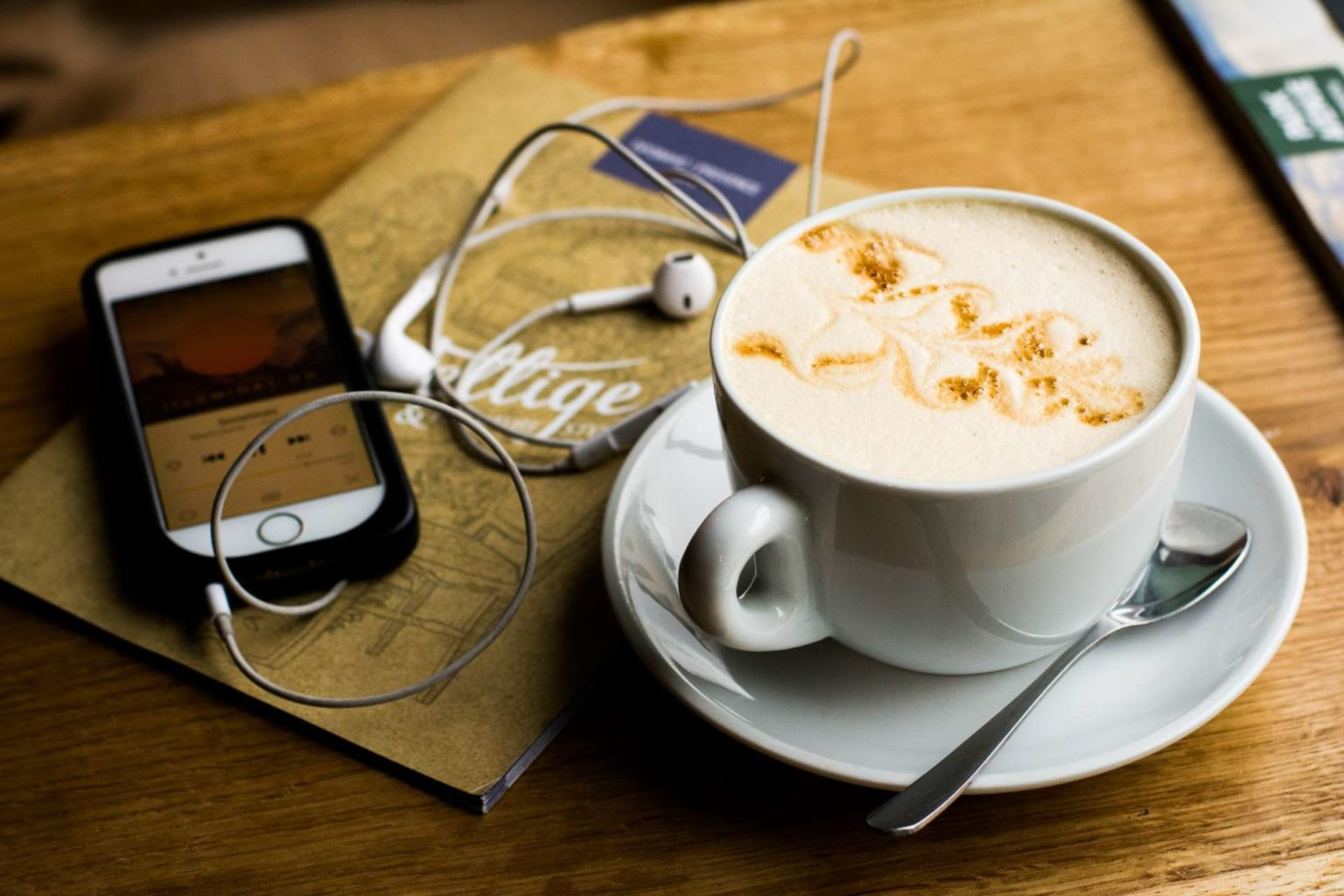 Coffee + Podcasts