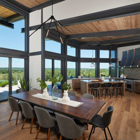 dining room and kitchen design