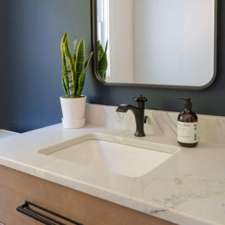 remodeled bathroom design