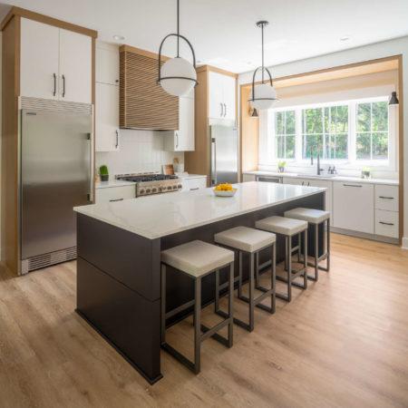 remodeled kitchen island design